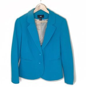 H&M• Blue Women's Two Button Blazer Size 12